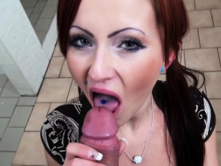Assfucked pickedup redhead creampied be fitting of top-hole