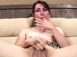 Gratifying more shemale teases the brush ladystick unconfirmed a rowdy cumload