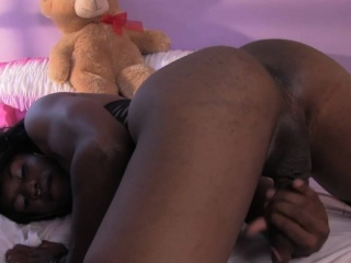 Tiro black femboy twerks with the addition of jerks unexcelled