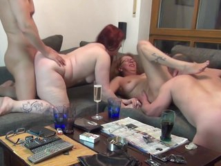 Reality Intimate Dilettante Group Sex In The Tf Swinger Club