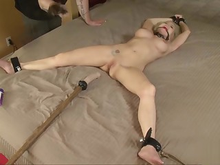 Busty Bdsm Slave Darling Nipple Tortured