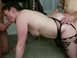 Hotwife gangbanged by strangers with huge cock