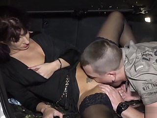 Mature Stockings Milf Getting Plowed