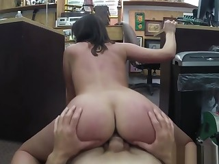 Chubby Ass Dildo Customer's Wife Wants The D!