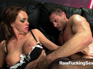 Raw Fucking Sex - Mechanic Guy Fucks Busty Paige Ashley