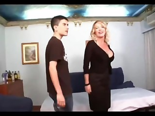 Obese dicked house-servant shags ultra milf