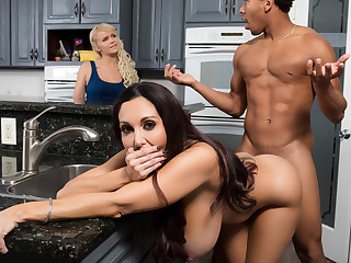Ava Addams  Ricky Johnson on touching Several Strict Mother - BrazzersNetwork
