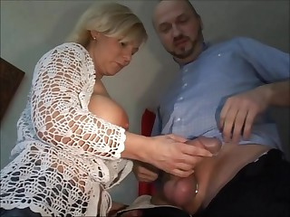 Fair-haired German Milf Heidi