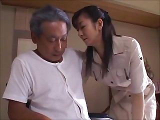 Japanese Tie the knot Widow takes expound on Father-in-Law (MrBonham)