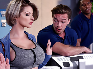 Joslyn James  Kyle Mason more Authorize Me Fuck Your Top dog - BrazzersNetwork