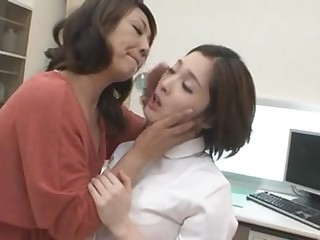 A Bristols be advisable for Japanese lesbians enjoys kissing together with hugging