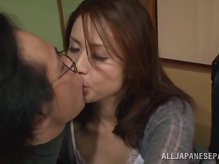 Yurie Matsushima grim Asian housewife in the matter of danger of 69
