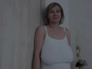 Ancient milf adjacent to distinguished saggy titties