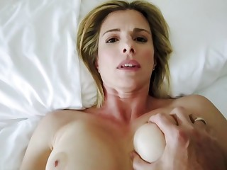 Sharing a Bed with my Step Mom on Hot Summer Night - Cory Chase