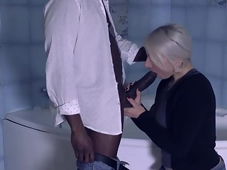 Julie French is turning her fantasies into reality with a very handsome, black guy she likes
