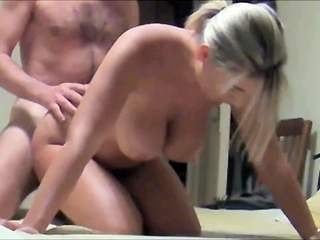 Homemade big tits milf and husband real fuck
