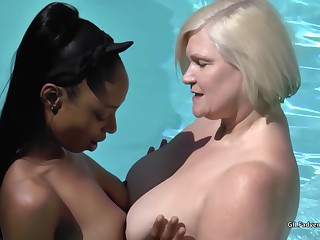 Lacey Starr Lesbian sex with Lola Marie