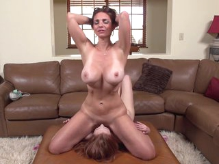 Mindi Mink and Jackie Jupiter - Lesbian Training Day 6 Sc 1