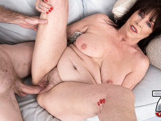 Christina's First Fuck Video - Christina Starr And Brick Danger - 60PlusMilfs