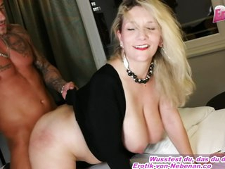 German Amateur Big Tits Mother Seduced From Son