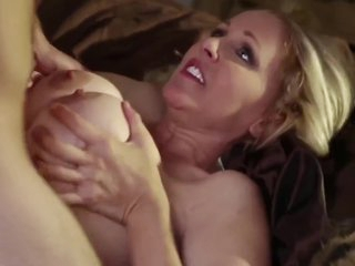 Bebe Boobs And Julia Ann In Horny Mom Fucked Hard By Young Boy