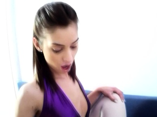 marcella pegging her Sub lexi pain