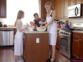 Big Boobs Milf Seduces Her Stepdaughter And Her Fiance