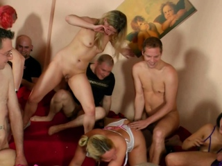 german swinger party orgy with couple
