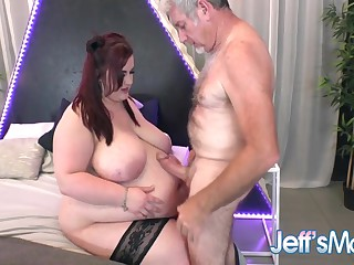 Massive Bellied Bbw Ashley Garland Is Ready For A Real Cock