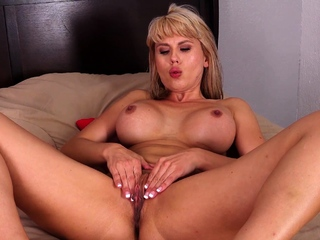Amber Chase knows she is the hottest MILF on the block, and