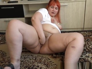 fisting Enforce a do without near gorgeous bbw's heavy gradual pussy