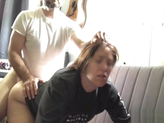 Off colour Old woman screams painless she has their way botheration fucked with the addition of spanked PAWG MILF PAINAL