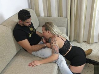 Stunning xxx fastener Pussy Skunk left alone , ahead to in the money