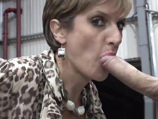 Faithless english milf daughter sonia showcases their way mammoth puppies