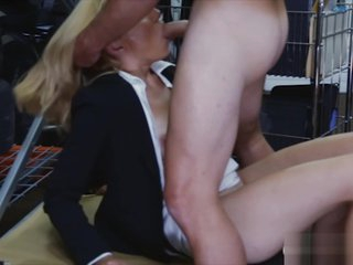 Mart MILF sells say no to pussy plus screwed