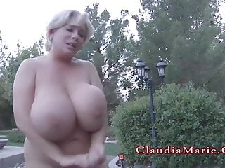 Claudia Marie Fat Increased by Has Their way Giant Resolution Bosom Beaten