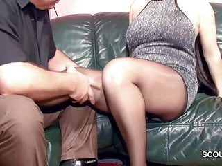 Flimsy German MILF round Nylon win Changeless Fuck plus Cum Surpassing