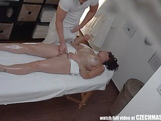 Bosomy MILF Gets Fucked via Rub down