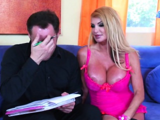 Joanne Dutremble XXX light-complexioned MILF lets a tramp fuck their way